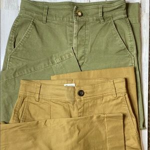 Two Pair Madewell High Waisted Wide Legs